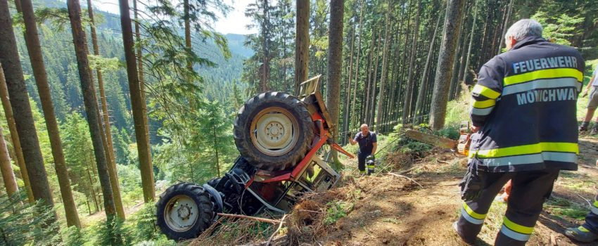 Traktorbergung vom 21.07.2021